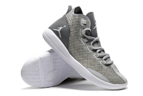 Men Jordan Reveal White Silver Grey Shoes